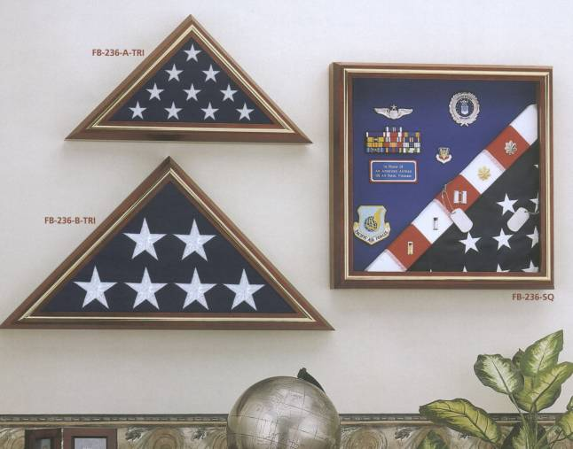 Flag display picture frames